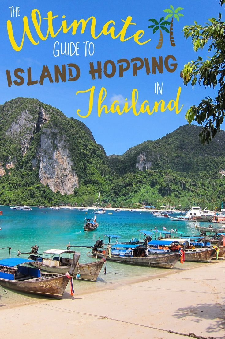 Thailand is an amazing destination that has a lot to offer a traveler, whether you're staying for just a week, or are taking a long-term exploration of the country. The islands in Thailand are famous for their wonderful beaches, laid back vibe and excellent activities, such as scuba diving. #Islandhopping #Thailand