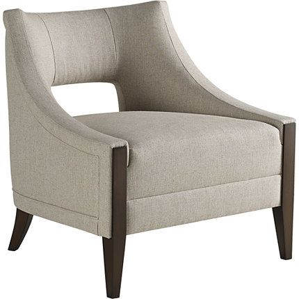 Baker Furniture : Piedmont Lounge Chair - 6726C : yes : Barbara Barry : Browse Products