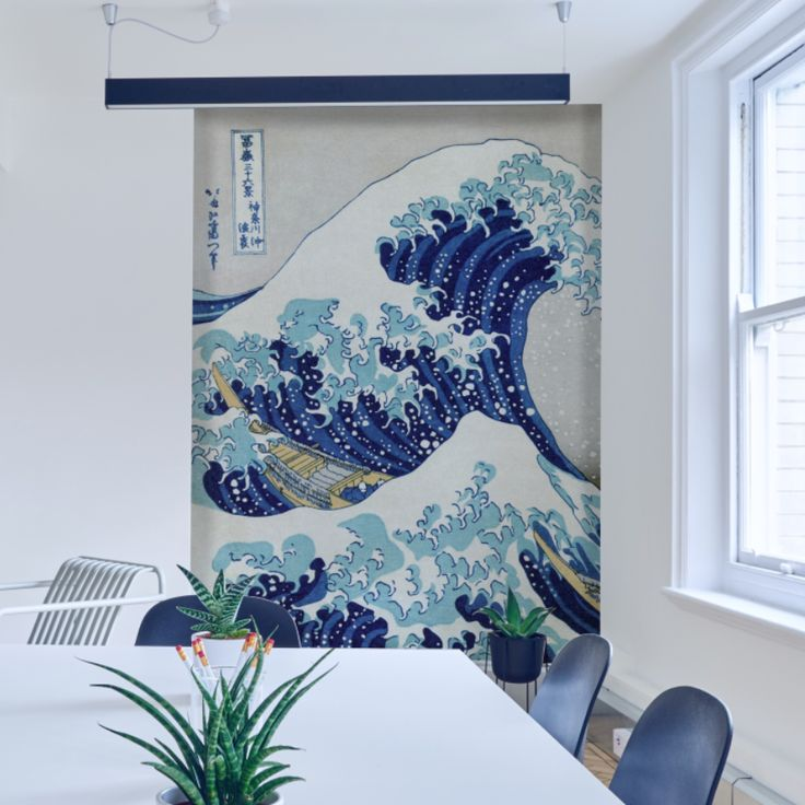 Great Wave Of Kanagawa Wall Mural | #wallmural #japan #wallpaper  #interiordesign # Part 89
