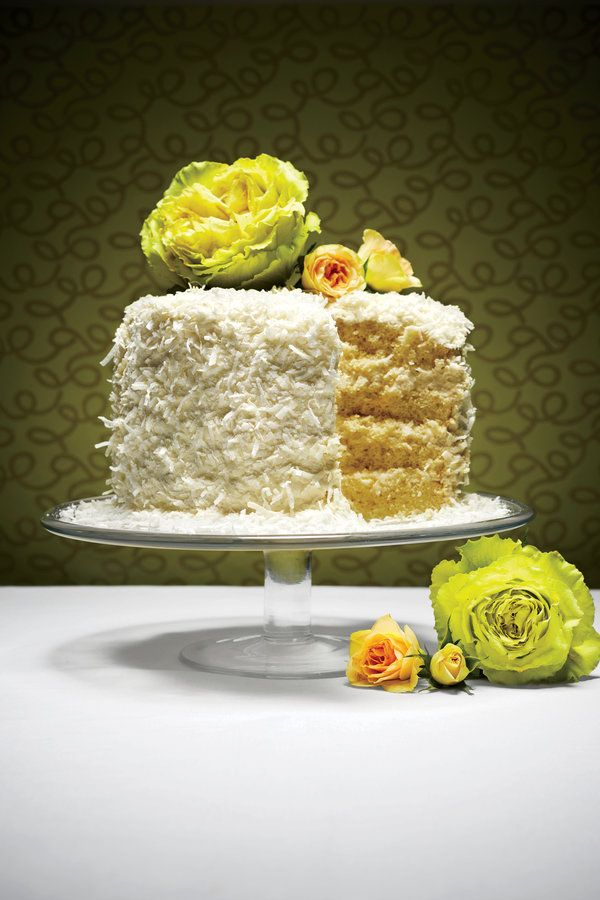 The South's Most Storied Cakes: The Coconut Chiffon Cake