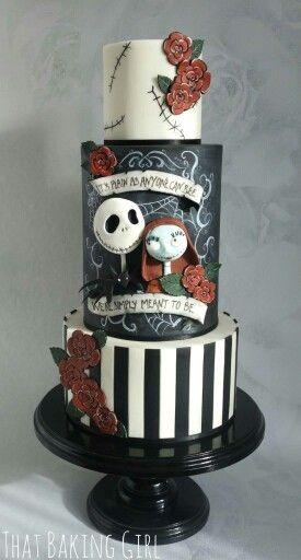 194 best Tim Burton Cakes images on Pinterest   Halloween cakes ...