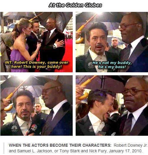 Because he IS Tony Stark.