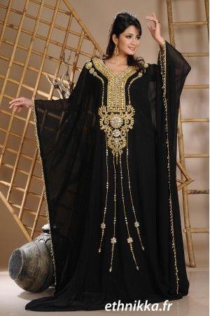 Robe orientale mariage grande taille