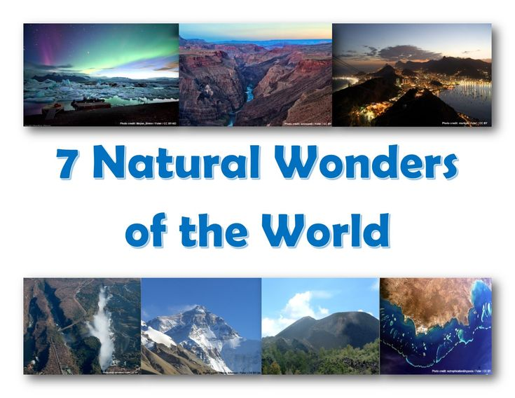 natural wonders of the world 6