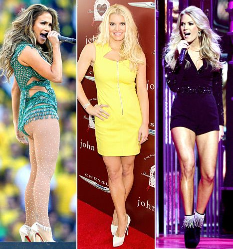 How to Fake Legs Like Jessica Simpson, Jennifer Lopez, More: Tips - Us Weekly