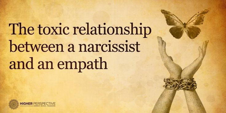 The Toxic Relationship Between A Narcissist And An Empath - Higher Perspective