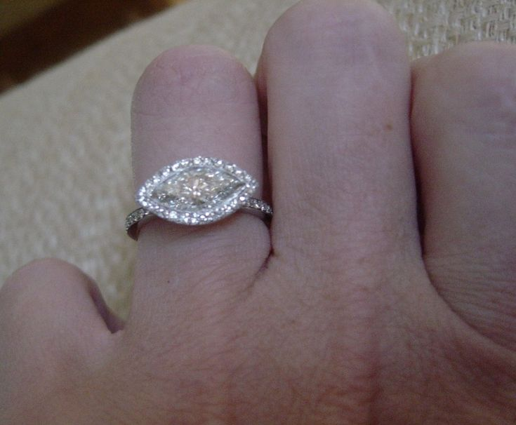 east-west marquise diamond ring settings - Google Search