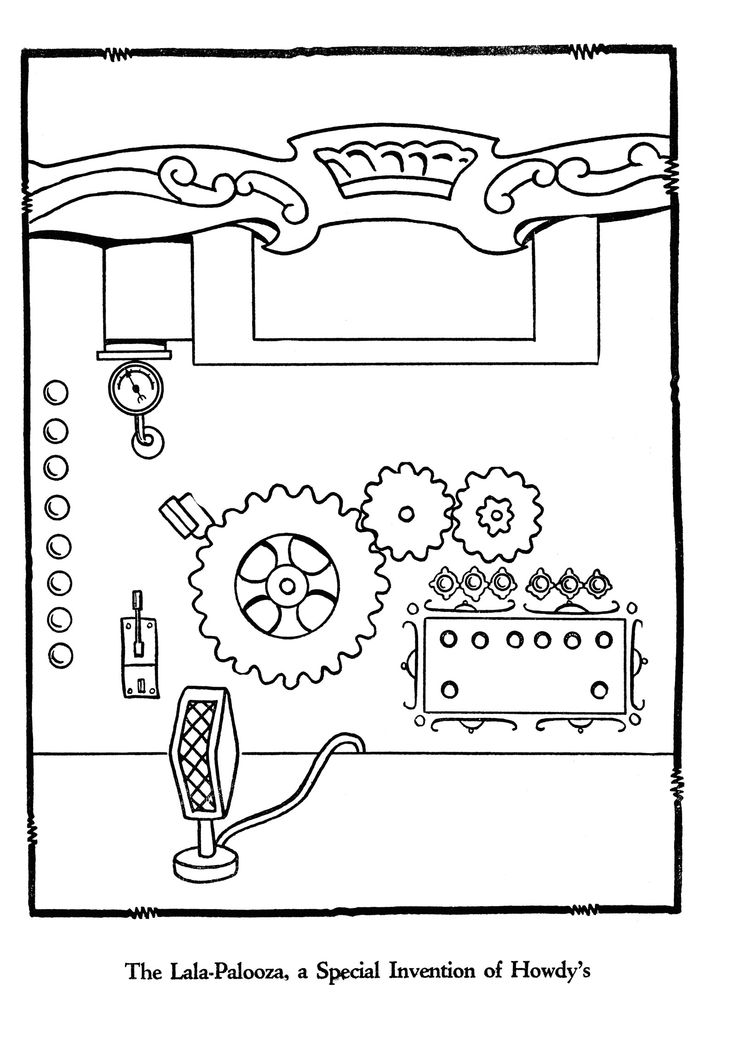 howdy doody coloring pages - photo#18