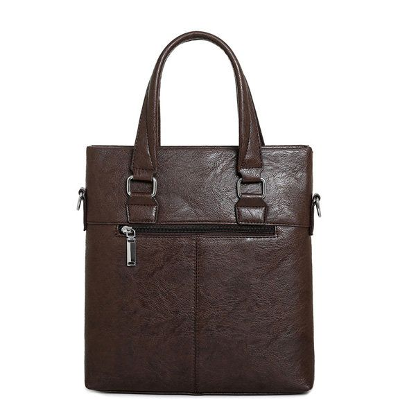 Men PU Business Crossbody Bag Outdoor Handbag Briefcase - US$29.89