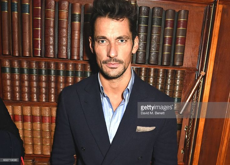 David Gandy attends Burns Night with Copper Dog Whisky at Alberts on January 25, 2017 in London, England.