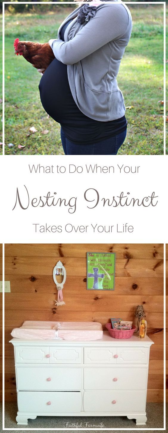 A pregnant mama's nesting instinct can create overwhelm and anxiety in the last trimester. With these tips & checklists, she can nest without the stress.