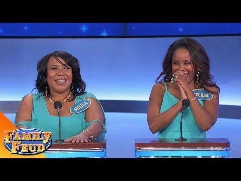 Oh Mother! - Family Feud contestant fails by repeating worst answer over and over. Great to show stress in words
