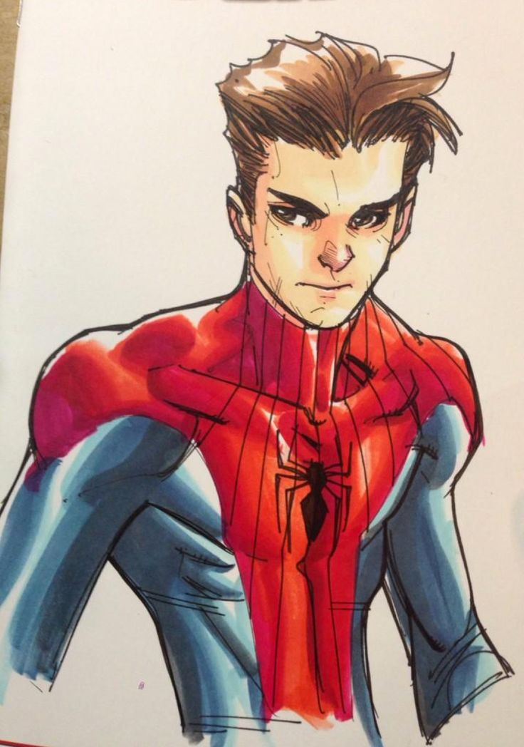 Peter Parker - Spider-Man by Humberto Ramos *