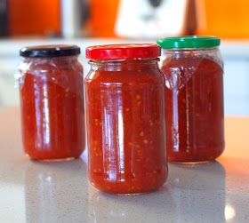 Suprisingly, this is my first batch of chilli sauce since I got my Thermomix (2 years ago!) (I used to make my chilli sauce in very large...