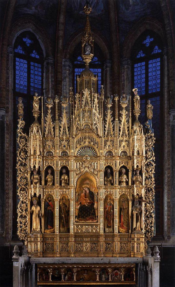 Polyptych of the Virgin by Antonio Vivarini
