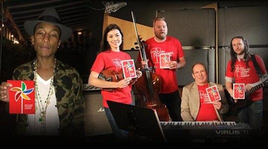 All-Star Ensemble of Musicians Produce an Original Song to Bring Awareness to Child Labor