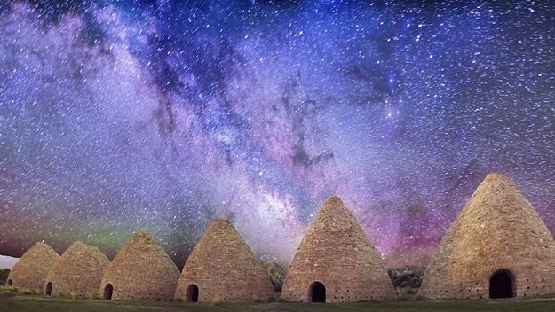 Enormous Ward Charcoal Ovens (White Pine County) | 10 Jaw-Dropping Sights You Can Only See InNevada