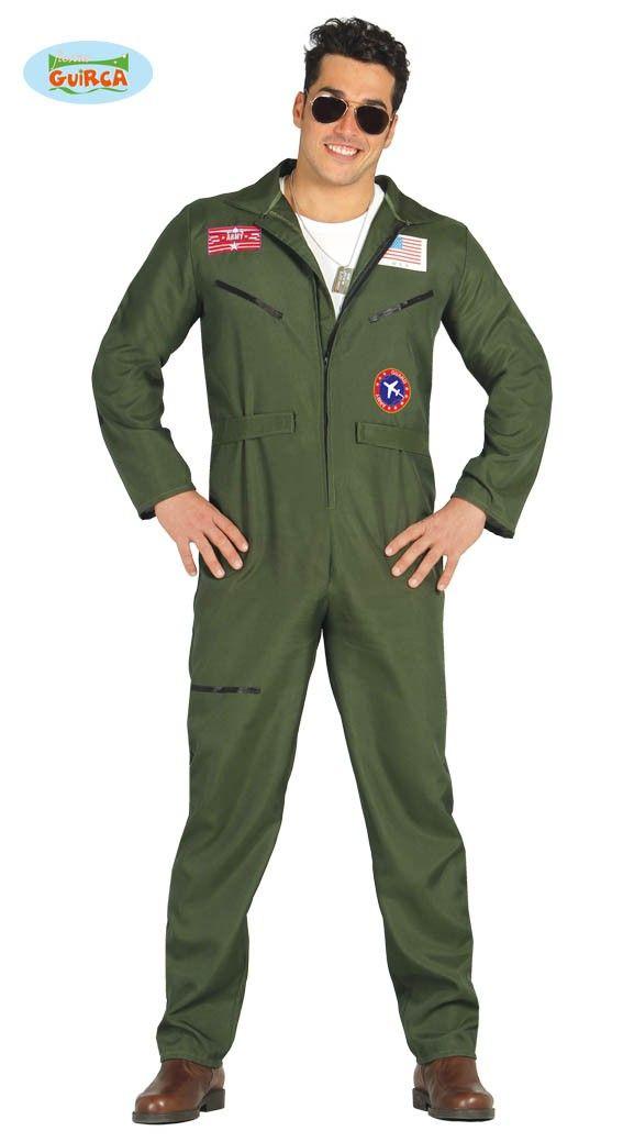 Jetpilot Kostüm für Herren M/L