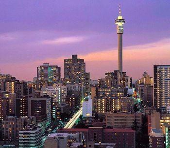Johannesburg CBD by night. Great photography!
