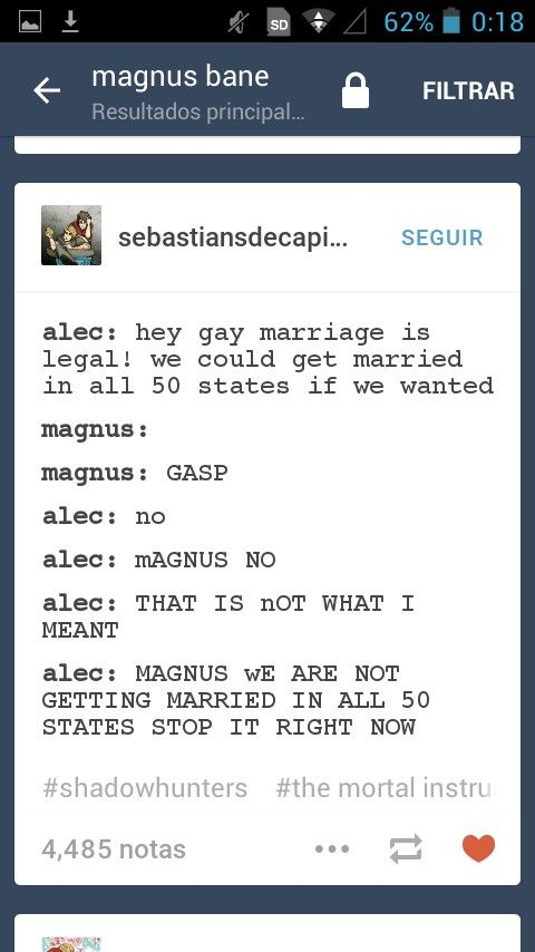 HahA!!!!  Magnus! And Alec!!! LOve!!!!