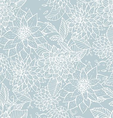 Seamless floral pattern vector by BerSonnE on VectorStock®