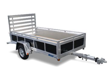 New 2013 Mission MU 6x12 SSR Utility Trailer For Sale in Bolton CT | T8383