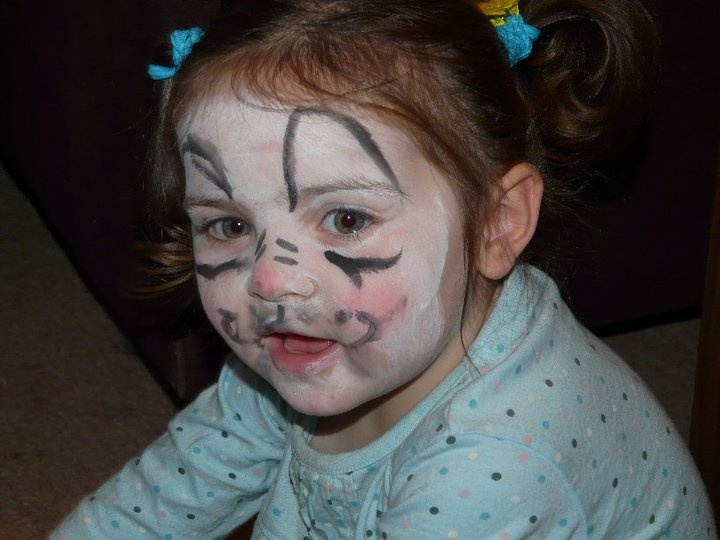 Mouse face paint | My own creations | Pinterest
