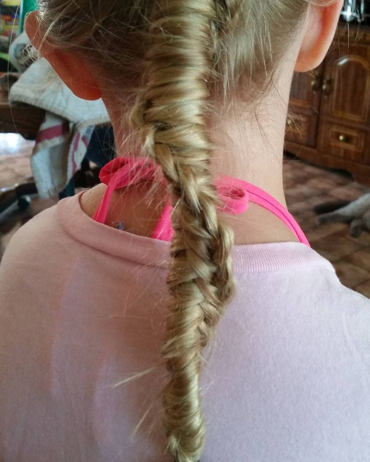 """3 Likes, 1 Comments - Raven Moonchilde (@themajikraven) on Instagram: """"Did a Chinese ladder braid in little bit's hair today. We are going to a water park with her…"""""""