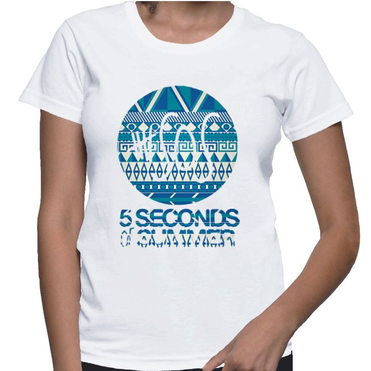 5 Seconds Of Summer 5sos Tribal Pattern For Women T-shirt