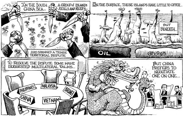 South China Sea - KAL's cartoon | The Economist