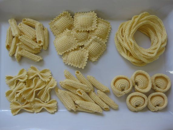 Pasta Party Crochet Pattern