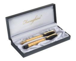Luxusná písacia sada so zlatým dizajnom