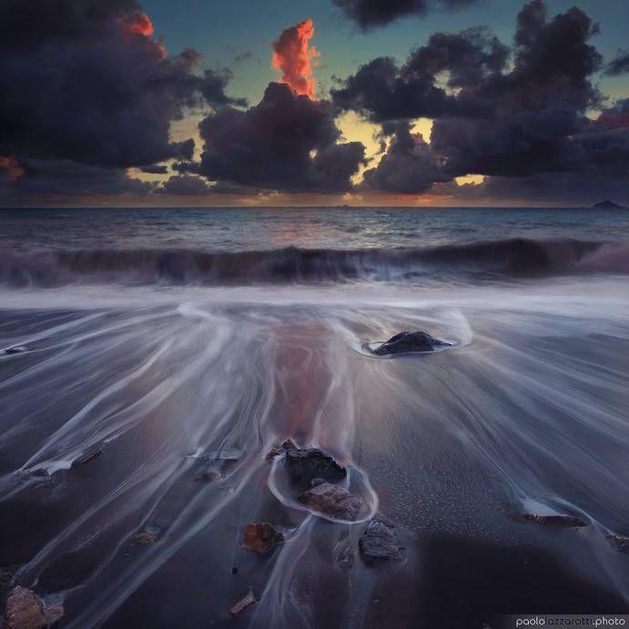Pejzaż morski - Nie uwierzysz, że to zdjęcia. Morskie pejzaże jak spod pędzla…