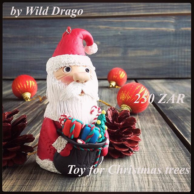 toy for Christmas trees--- SALE---250 ZAR--- #bywilddrago #toys #tree #christmas #by#johannesburg #polymerclay #polymerclaytutorial #sale #handmade Welcome to the magical world of unique gifts. Here you can see my work. And do you know where you can buy beautiful gifts from polymer clay for him, for her, for mum, for dad, for a friend to all. @WildDrago_CraftShop