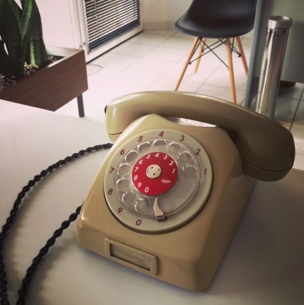 Vintage@PAZLE Creative '60s ERICSSON ANALOGUE TELEPHONE