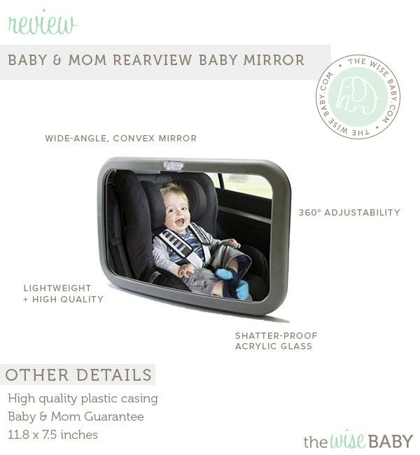 Baby & Mom Backseat Baby Safety Mirror Review