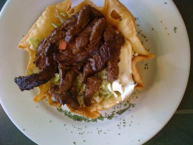 Steak taco salad at La Cocina (Dallas, GA)