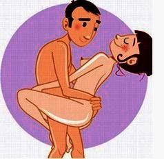 wall standing sex position