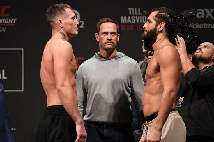 Brutal knockout masvidal vs darren till full fight