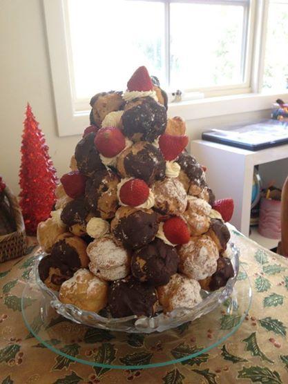 Profiteroles for Christmas