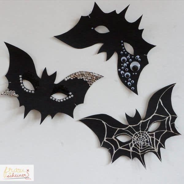 Halloweenmaske Frau Scheiner In 2020 Halloween Masken Basteln Basteln Halloween Basteln Mit Kindern