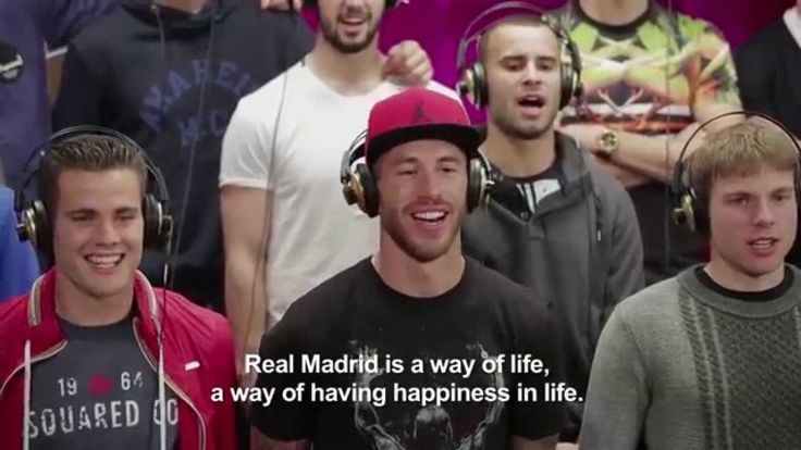 Making of del himno de la Décima - Hala Madrid y Nada Más (Real Madrid f... http://www.1502983.talkfusion.com/es/products/
