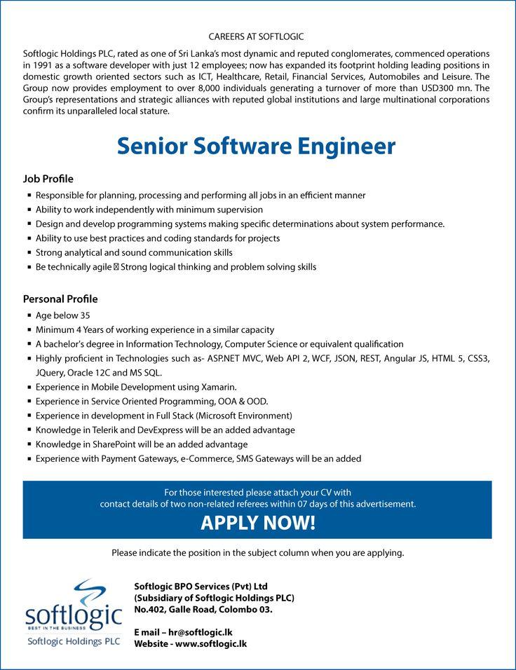 50 best IT JObs images on Pinterest Career, Carrera and Centre - petroleum engineer job description