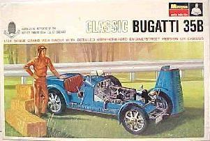 monogram model kits bugatti 35b