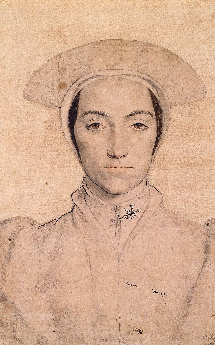 Hans Holbein the Younger, An unidentified woman by Hans Holbein the Younger, c.1532 – c.1543