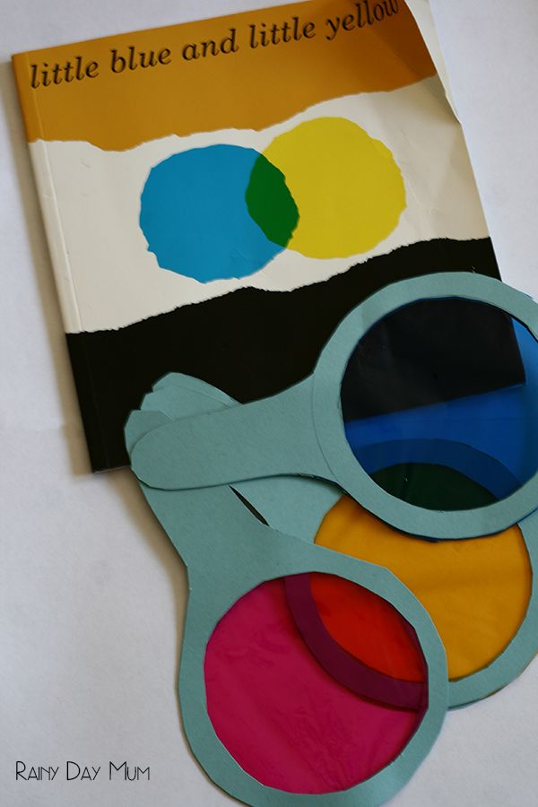 Explore colour theory with this simple experiment that involves no mess - bringing the classic childrens storybook Little Blue and Little Yellow by Leo Lionni to life whilst learning at the same time.