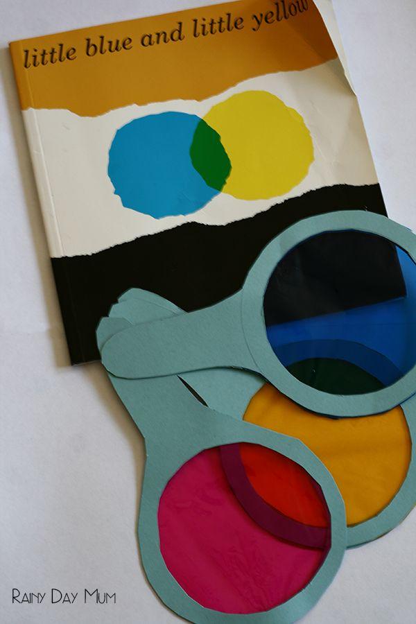 Esplora la teoria dei colori di questo semplice esperimento che coinvolge nessun disordine - portare i bambini classici storybook Piccolo Blu e Piccolo Giallo di Leo Lionni alla vita mentre imparare allo stesso tempo.
