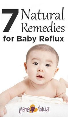 What causes baby reflux? How can you treat it naturally? See the natural remedies that worked wonders for my daughter's infant reflux! www.mamanatural.c...