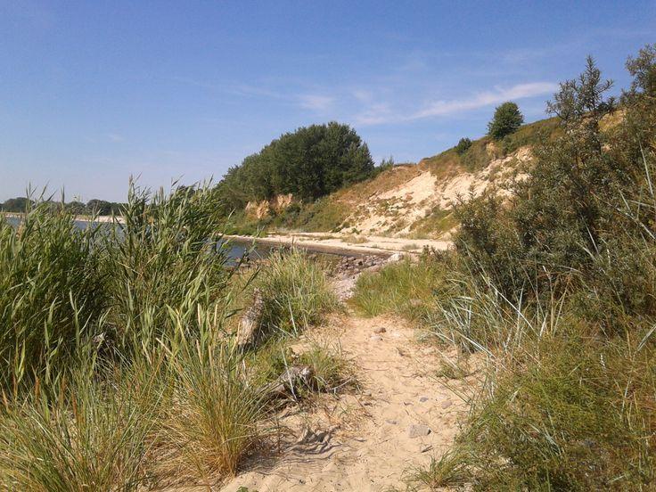 Südstrand im Ostseebad Goehren auf der Insel Ruegen,