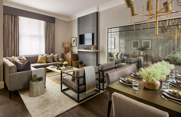 Nottinghill luxury interior design london surrey for Interior design surrey